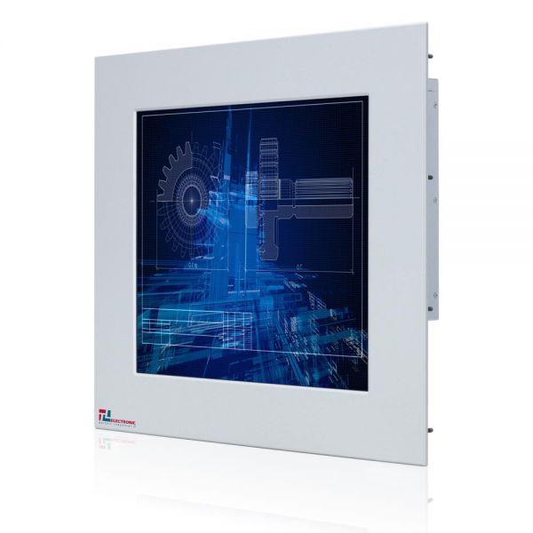 01-Industrie-Panel-PC-WM17PMA-IP65-Einbau /  TL Produkt-Welten / Panel-PC / Panel Mount (Einbau von vorne) / Touch-Screen für 1-Finger-Bedienung