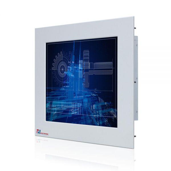 01-Industrie-Panel-PC-WM15PMA-IP65-Einbau /  TL Produkt-Welten / Panel-PC / Panel Mount (Einbau von vorne) / Touch-Screen für 1-Finger-Bedienung