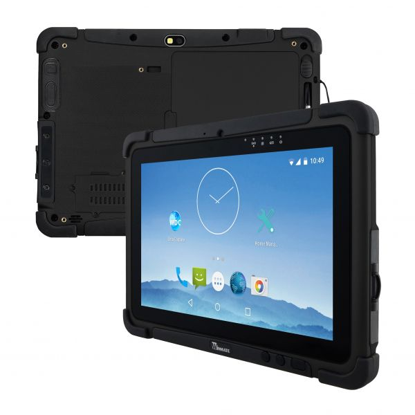 01-Front-Rear-M101RK / TL Produkt-Welten / Mobile Computing / Rugged Industrial Tablets