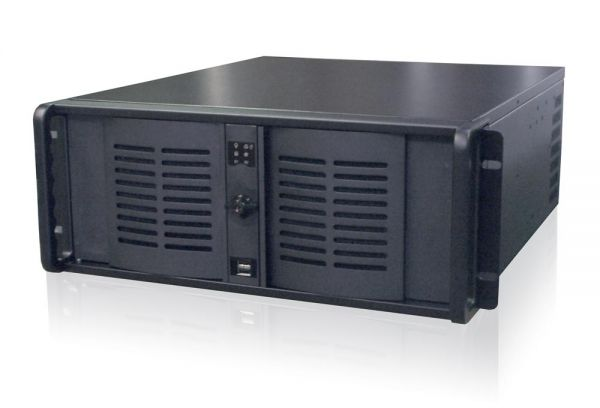 01-Front-right-CL44xx / TL Produkt-Welten / Industrie-PC / 19-Zoll Rack Mount / 7 Slots (ATX Mainboard)