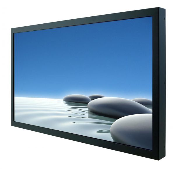 Front-right-WM 22W-VDP-CH-GS / TL Produkt-Welten / Industriemonitor / Chassis (VESA-Mounting) / ohne Touch-Screen