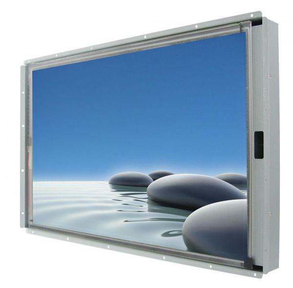 Front-right-WM 27W-VDP-OF-GSS / TL Produkt-Welten / Industriemonitor / Open Frame (Einbau von hinten) / Touch-Screen für 1-Finger-Bedienung