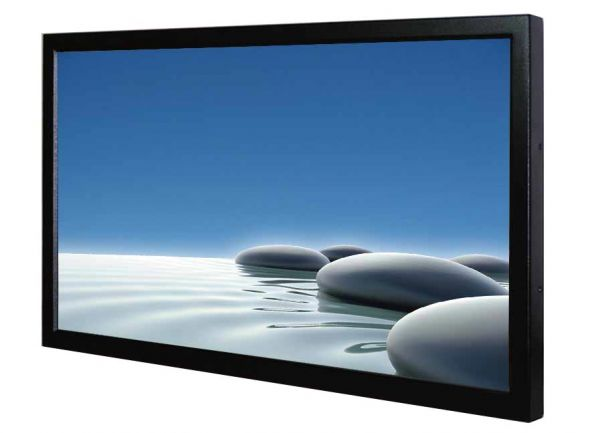 Front-right-WM 32W-VDP-CH-GS / TL Produkt-Welten / Industriemonitor / Chassis (VESA-Mounting) / ohne Touch-Screen