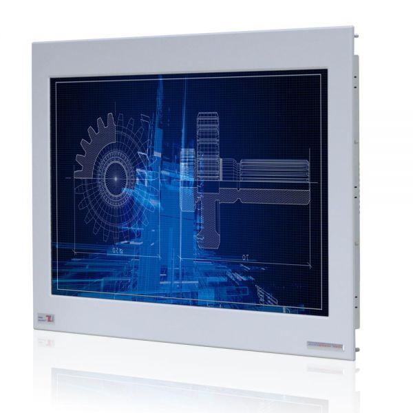 Front-right-WM 24W-VDP-PMA-GS / TL Produkt-Welten / Industriemonitor / Panel Mount (Einbau von vorne) / ohne Touch-Screen