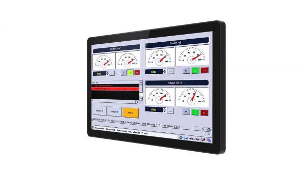 01-Front-R19L100-GCM1 / TL Produkt-Welten / Industriemonitor / Chassis (VESA-Mounting) / Multitouch-Screen, projiziert-kapazitiv (PCAP)