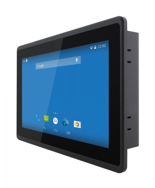 01-Front-right-W07FA3S-EHT1 / TL Produkt-Welten / Panel-PC / Panel Mount (Einbau von vorne) / Multitouch-Screen, projiziert-kapazitiv (PCAP)