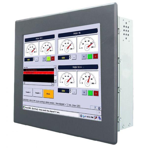 01-Einbau-Industrie-Panel-PC-R08IB3S-PMU1 /  TL Produkt-Welten / Panel-PC / Panel Mount (Einbau von vorne) / Touch-Screen für 1-Finger-Bedienung