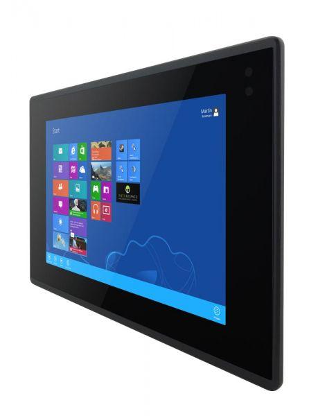 01-Front-right-W10IB3S-EHH2 / TL Produkt-Welten / Panel-PC / Panel Mount (Einbau von vorne) / Multitouch-Screen, projiziert-kapazitiv (PCAP)